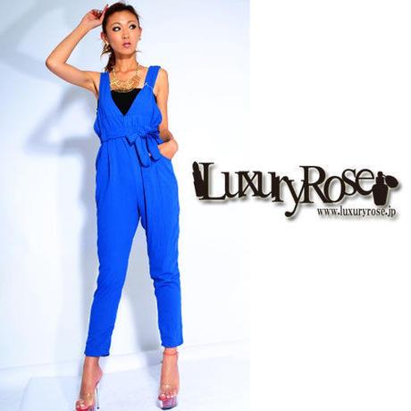 【LuxuryRose】Ladyなジョーゼットジャンプスーツ