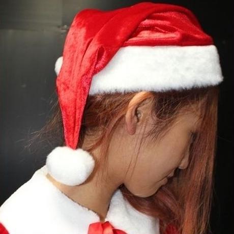 【 LuxuryRose】ケープ付きサンタドレス 5点SET