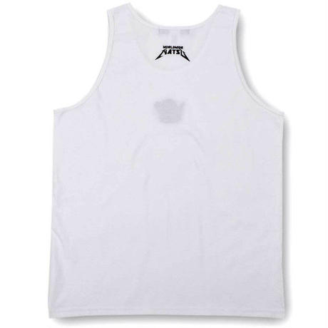 【World wide Famous】 【新作】19ss FAMOUS KGN TANK TOP フェイマス こげなつ タンクトップ ホワイト