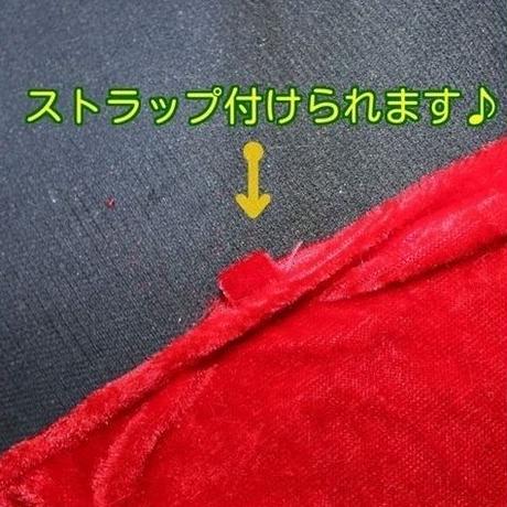 【 LuxuryRose】フードケープ付チューブトップ ミニサンタ 4点セット