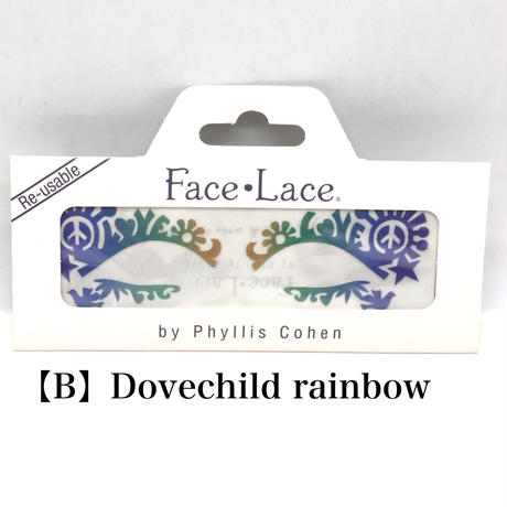 【Face Lace】 メイクアップ ステッカー
