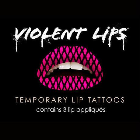 【VIOLENTLIPS】日テレでも放映!今話題のリップタトゥーシール☆バイオレントリップス