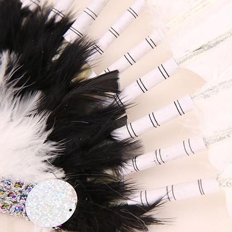 【LuxuryRose】存在感120% ユニセックスで着用可能! インディアン フェザー ヘッドアクセサリー