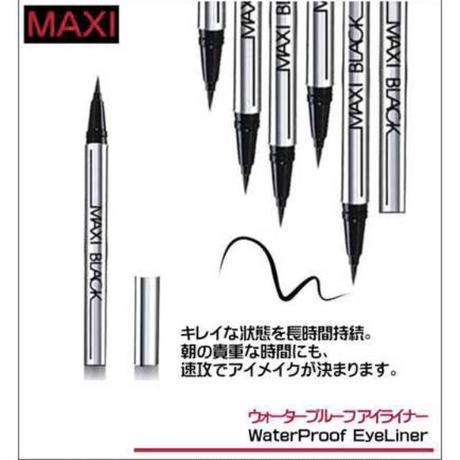 【LuxuryRose】MAXI 1本 36h 耐久 リキッド ウォータープルーフ アイライナー