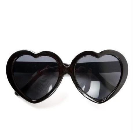 【LuxuryRose】ハートサングラス