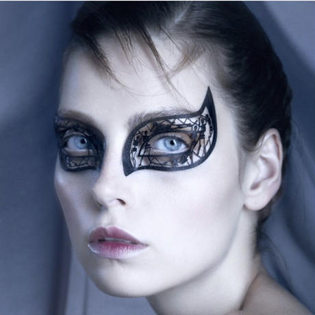 【Face Lace】メイクアップ ステッカーSkelouette wings