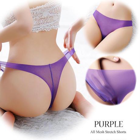 【Luxuryrose】<全8色あり!>透ける・伸びる・薄い!Tバックショーツ