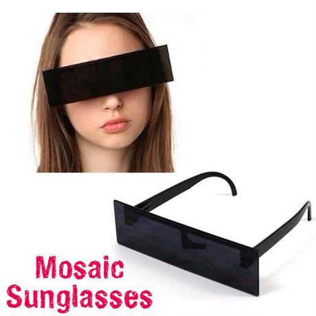 即納【LuxuryRose】モザイクサングラス グラサン/ユニーク/おもしろメガネ/ジョークグッズ