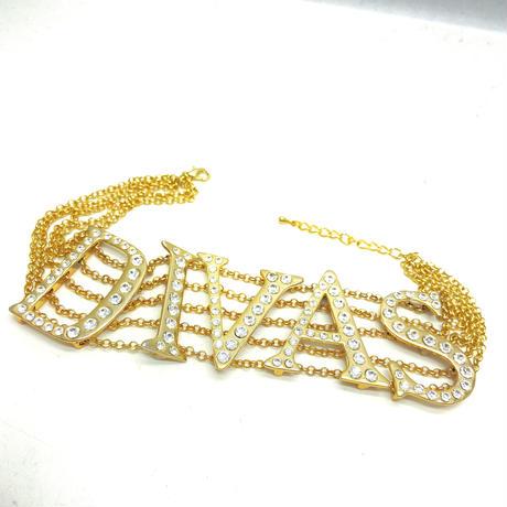 【LuxuryRose】DIVAS スワロフスキー チョーカー
