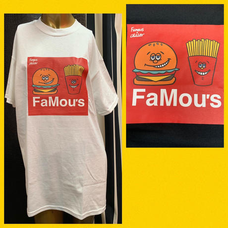 【World wide Famous】 FAMOUS MAC TEE by Chiller