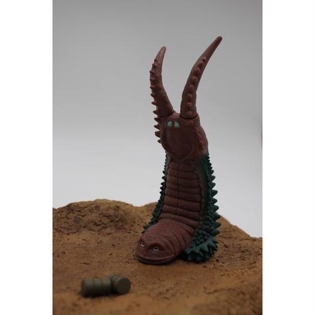 PREZZA BACK STAND BASE [PDB 01] 砂の大地-塗装済みポリーストーンベース