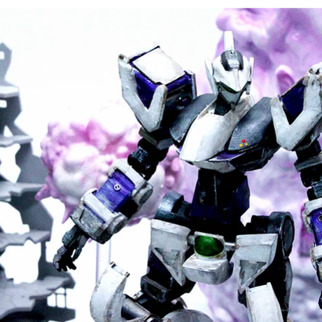 PREZZA SOUL EFFECT [PSE - EA 01] 爆発エフェクト - ANIMATION GRAY