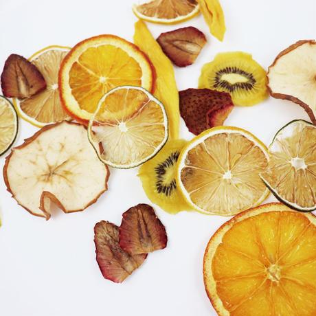 乾燥したオレンジ