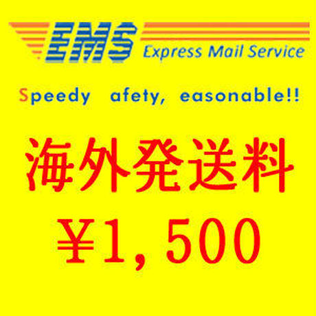 EMS(国際スピード郵便)送料 500gまで 【EMS: Up to 500g】