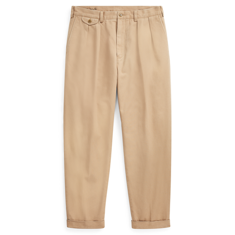 POLO RALPH LAUREN Relaxed Fit Pleated Chino