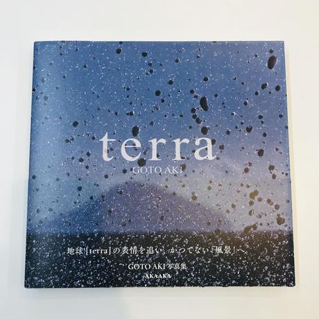 GOTO AKI『terra』(サイン入り)