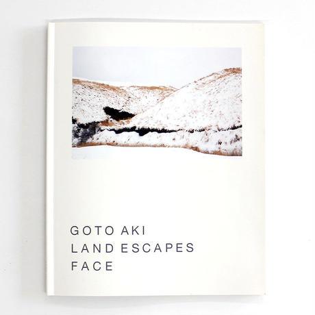 GOTO AKI『LAND ESCAPES FACE』(サイン入り)