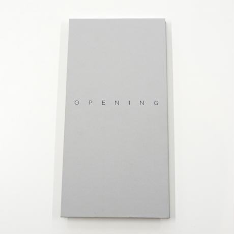 Jungjin Lee『OPENING』