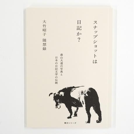 大竹昭子『スナップショットは日記か?』