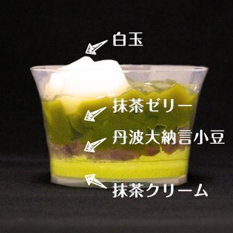 抹茶白玉クリームぜんざい【6個】