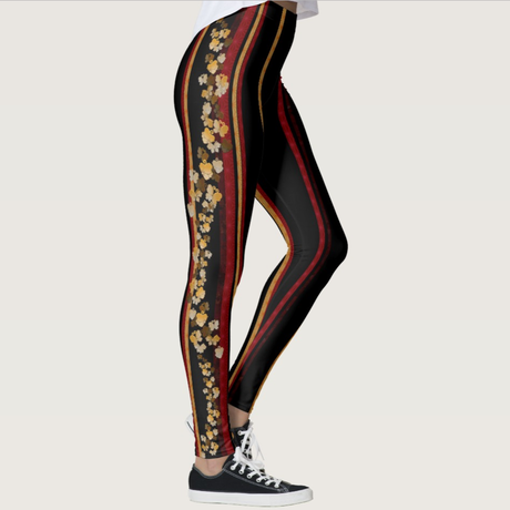 Golden Butterfly Leggings