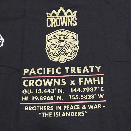 "FMHI  ""FMHI x CROWNS GUAM Collab"" Tee BLACK"