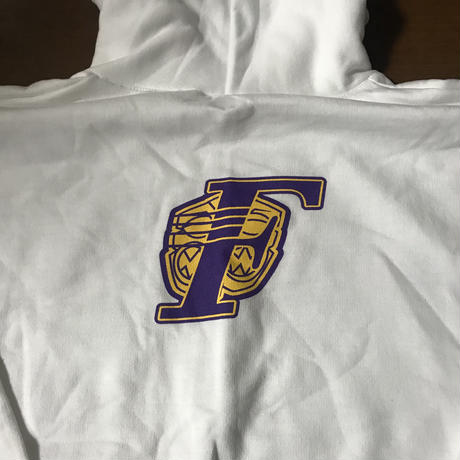 "FMHI ""FARM LAKERS"" Pull over Hoodie WHITE"