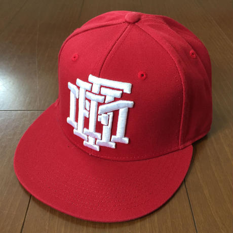FMHI STACKED HAT Red