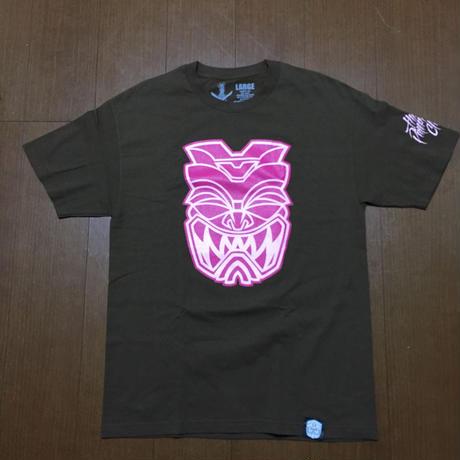 FMHI 3.0AKUA Brown/Pink Tee
