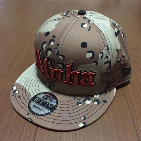 "FMHI  ""ALOHA""  DESERT CAMO HAT"