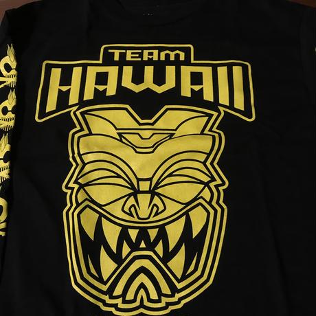 """FMHI  """"TEAM HAWAII """" BLACK LONG SLEEVE Tee"""