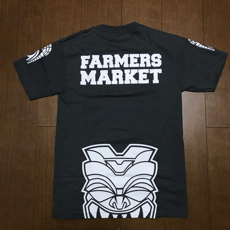"FMHI ""FIGHTER""  TEE(CHACOAL/WHITE)"