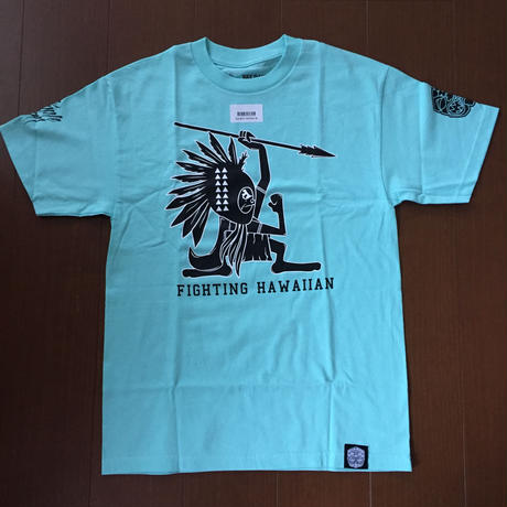 "FMHI ""FIGHTING HAWAIIAN""  Teal TEE"