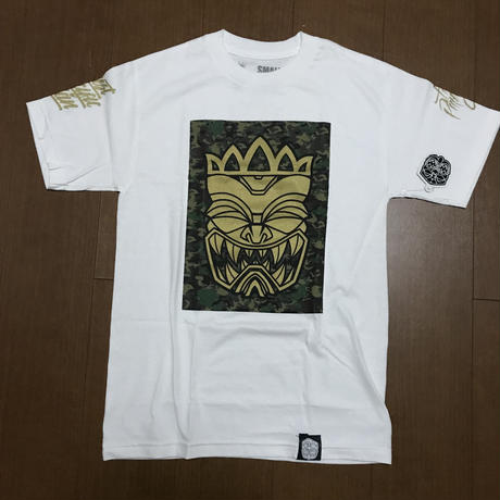 "FMHI  ""FMHI x CROWNS GUAM Collab"" Tee WHITE"