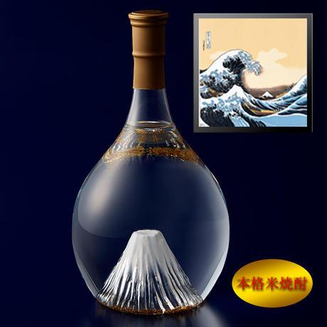 富士の酒 飛竜乗雲 本格米焼酎(風呂敷:波裏に富士)