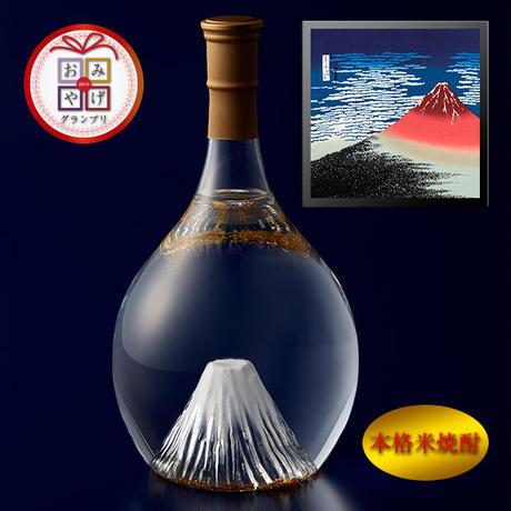富士の酒 飛竜乗雲 本格米焼酎(風呂敷:赤富士)