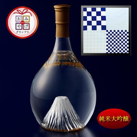 富士の酒 飛竜乗雲 純米大吟醸(風呂敷:市松)
