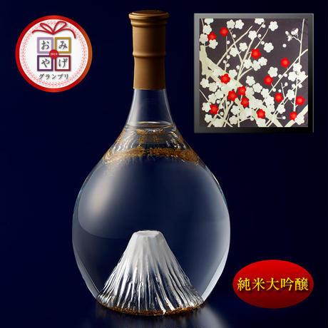 富士の酒 飛竜乗雲 純米大吟醸(風呂敷:光悦ちりめん友禅 梅)