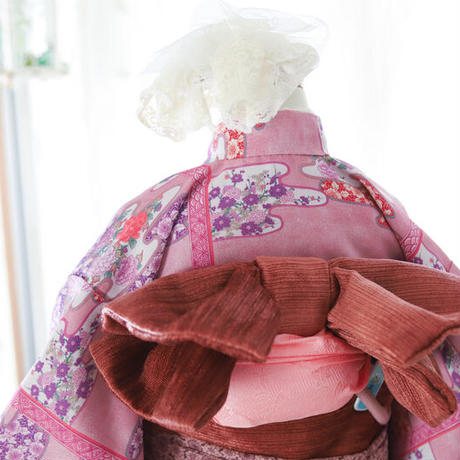 三歳 吉野式部 新品 被布 帯セット