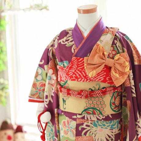 三歳 イチゴちゃんセット 紫菊モダン (中古)
