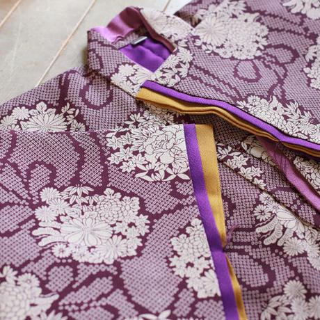 七歳 新品 紫華 帯セット