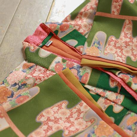 七歳 新品 ビロード吉野 帯セット