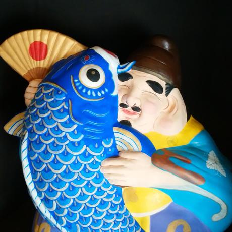 信州なかの 鯉えびす人形 特大