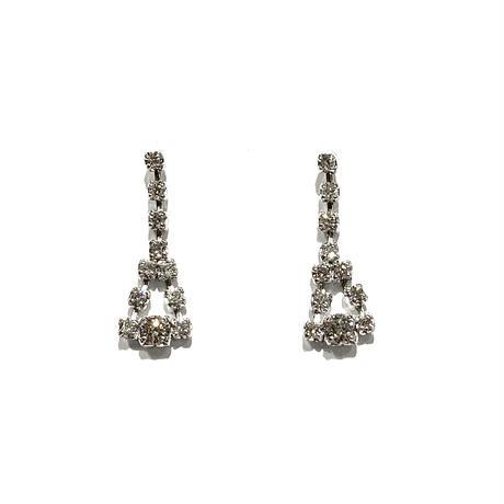プラチナ ダイヤモンド0.54ctピアス(揺れる)