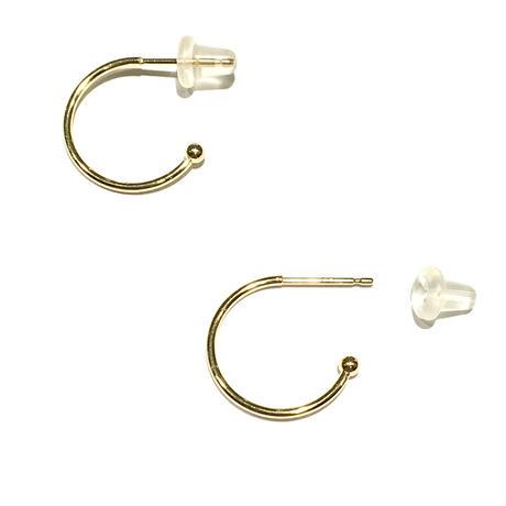K18ピアス金具(別売のチャームを付けて使用ください)