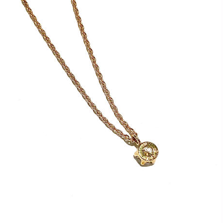 K18イエローゴールド/ダイヤモンド0.186ネックレス