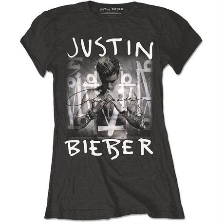 JUSTIN BIEBER (ジャスティンビーバー) レディースTシャツ: PURPOSE ALBUM