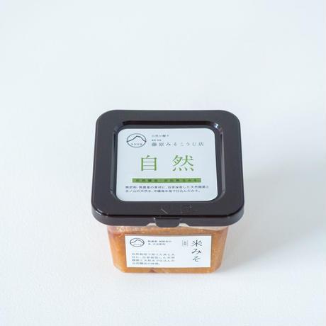 米みそ自然 自然栽培×天然麹菌(野生麹菌)        生産者:蒜山耕藝、禾/kokumono