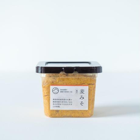恵み 麦みそ 農薬不使用×天然麹菌(野生麹菌)