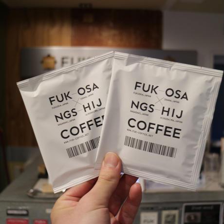 3レター コーヒーバック【 6個セット】